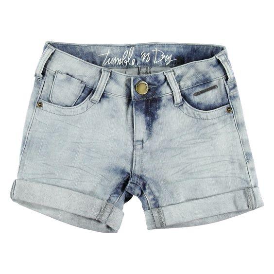 Korte Broek Denim | Tumble n Dry | Daan en Lotje https://daanenlotje.com/kids/meisjes/tumble-and-dry-korte-broek-denim-001143