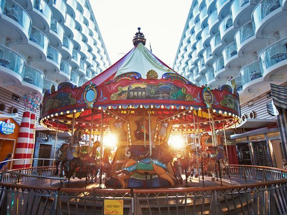 Go for a spin on the carousel. #oasisoftheseas