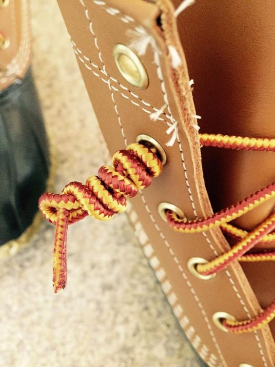 How to tie your new Bean Boots, and all about the greatest company in the world, L.L. Bean!(I'm excited for the company that these boots are trendy, but boy are they hard to get a pair. I wear mine for warmth, not fashion.)