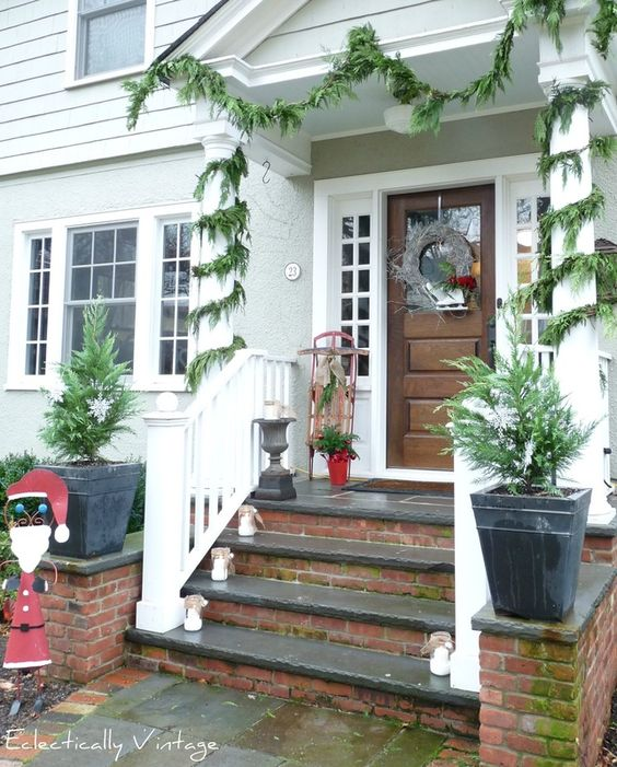 Best Concrete Steps Wood Railing And The Brick On Pinterest 400 x 300