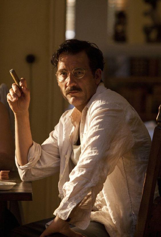 Clive makes a handsome Hemingway!