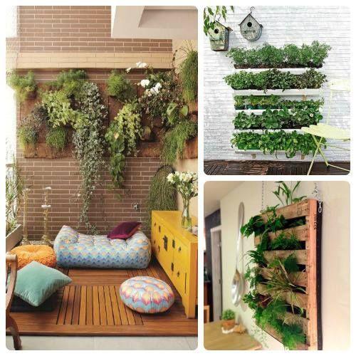Los jardines verticales tambi n son posibles en espacios for Ideas jardines pequenos