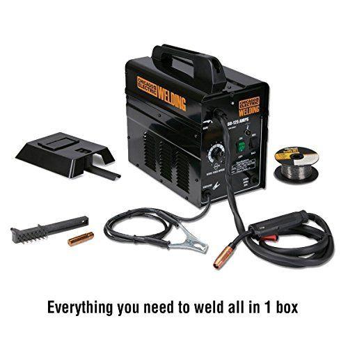 125 Amp 120 Volt 20 Amp Flux Core Wire Welder Welding Welders Flux Core Welding