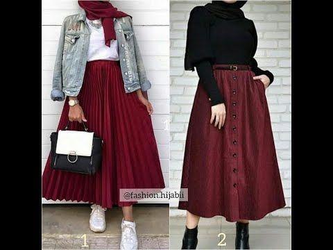 تنسيق ملابس المحجبات أجدد موديلات التنانير طويلة لفصل الشتاء 2020 مناسبة للجامعة العمل Youtube Harry Styles Clothes Fashion Outfits Muslim Fashion