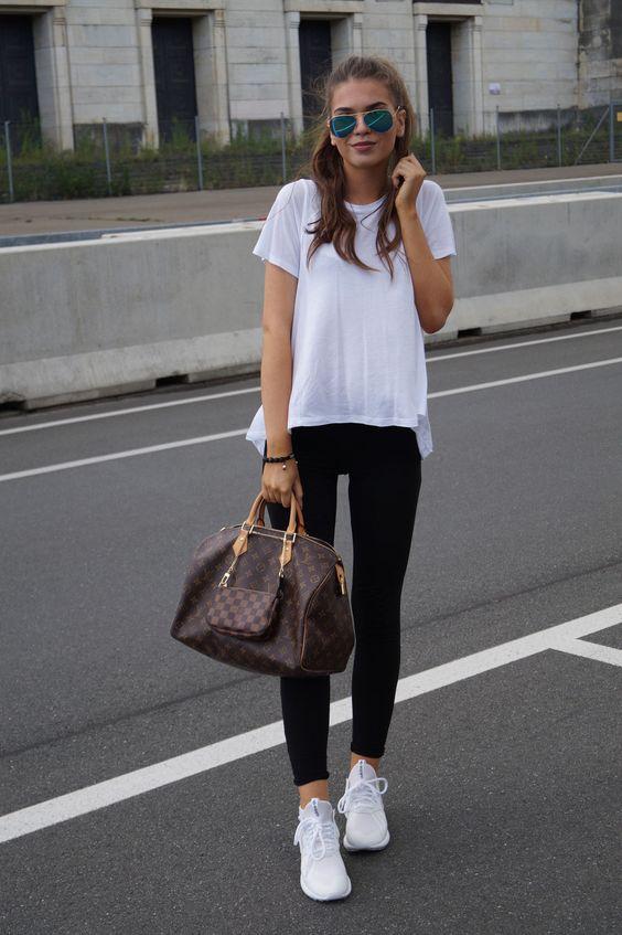 SPORTY OUTFIT FOR SCHOOL - Iva Nikolina Juric   Classy Casual U0026 Cute   Pinterest   Stylists ...