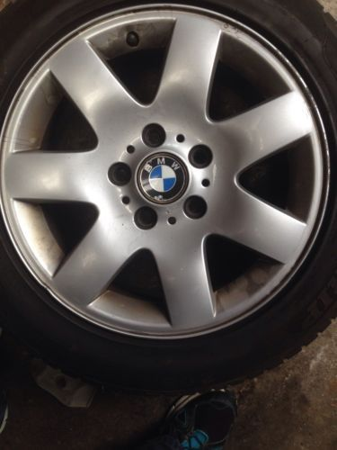 Bmw e46 3 #series alloy #wheel and tyre #1998-2005 16 inch  #3,  View more on the LINK: 	http://www.zeppy.io/product/gb/2/171993134304/