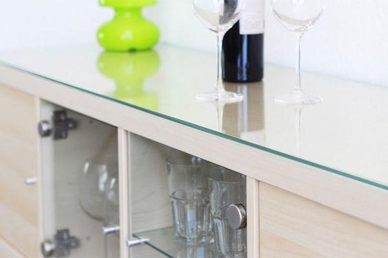 Ikea Kallax Regal Glasplatte  Awesome accessories for Kallax shelves from ikea