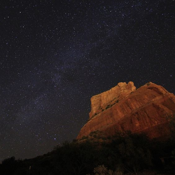 Sedona Milky Way iPad 4 Wallpaper