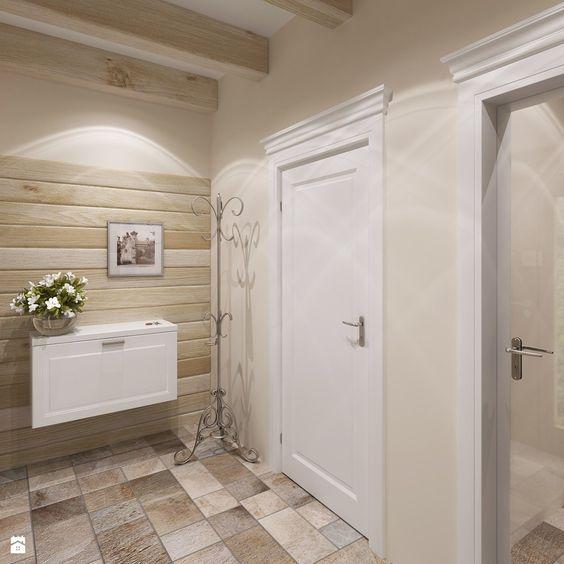Dom w stylu prowansalskim 10 hol przedpok j styl prowansalski sublidea agata pala - Fliesenkombinationen bad ...