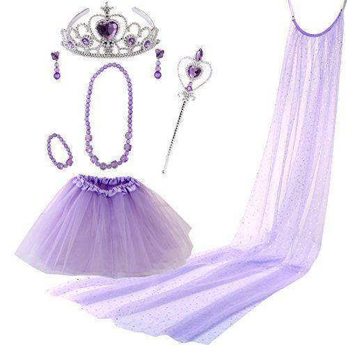 DRESS UP BRIDE DRESS GOWN TIARA BRIDAL PRINCESS ROLE PLAY GIRLS DRESSING GIFT