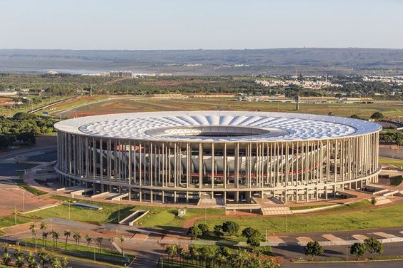 Estádio Nacional Mané Garrincha - Castro Mello Arquitetos