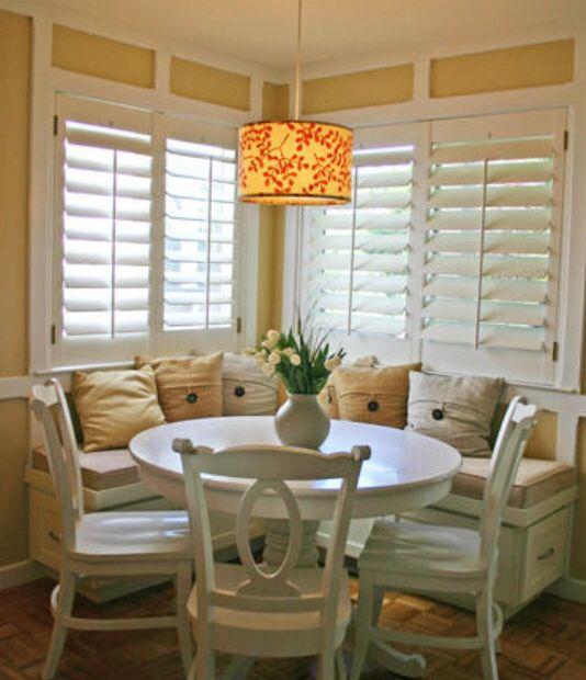 25 Kitchen Window Seat Ideas | Kitchen Window Seats, Breakfast Nooks And  Nook