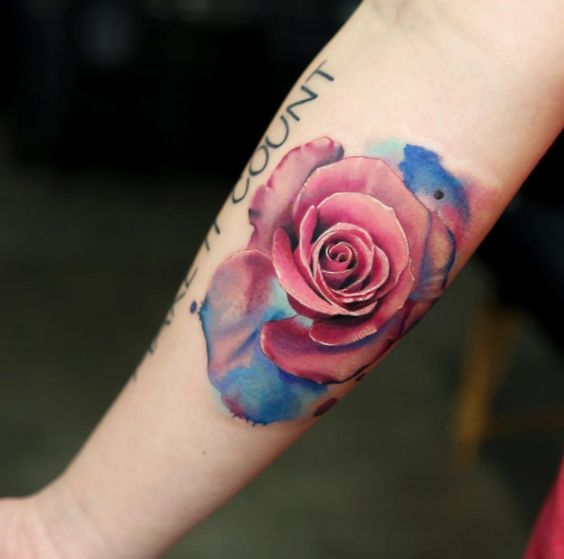70+ Gorgeous Rose Tattoos That Put All Others To Shame ...