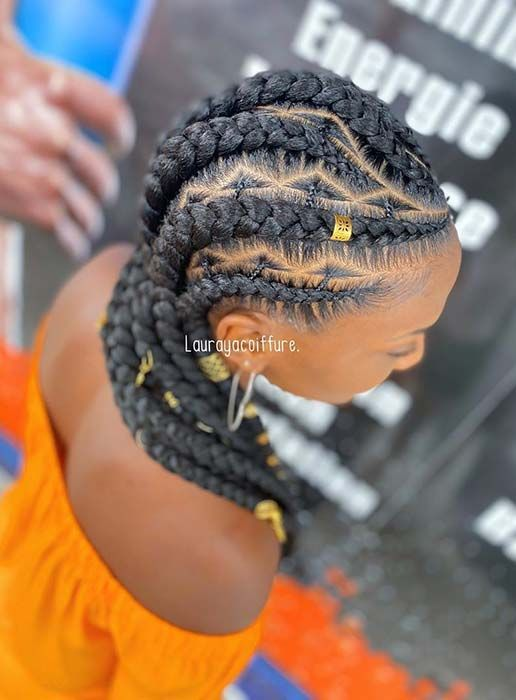 23 African Hair Braiding Styles We Re African Hair Braiding Styles Hair Styles Braided Hairstyles