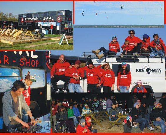 Kitesurfen lernen, Kitekurse Ostsee kiten mit der Kiteschule Kitemafia