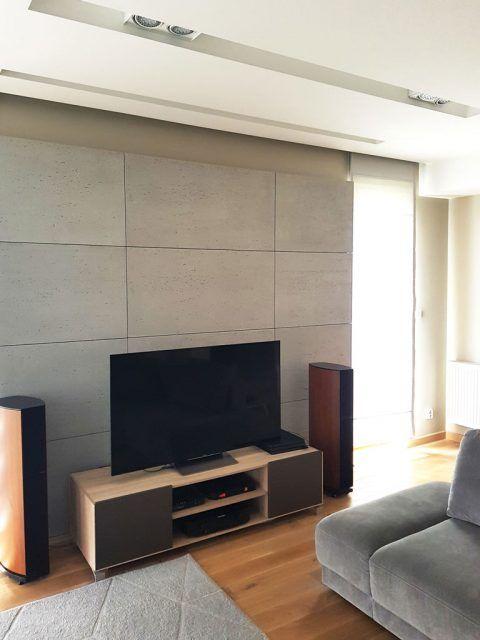 Beton Architektoniczny Płyty Betonowe Na ścianę Ozdobne Luxum In 2020 Flat Screen
