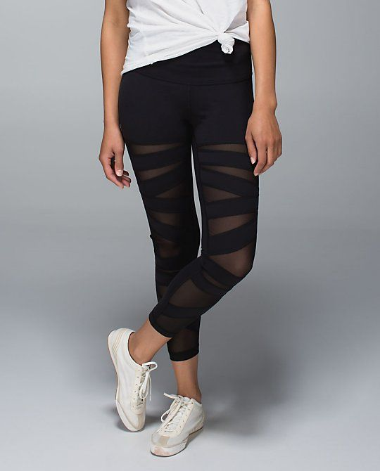 Layer Your Luon | Lululemon Tech Mesh Leggings | Work It Out ...