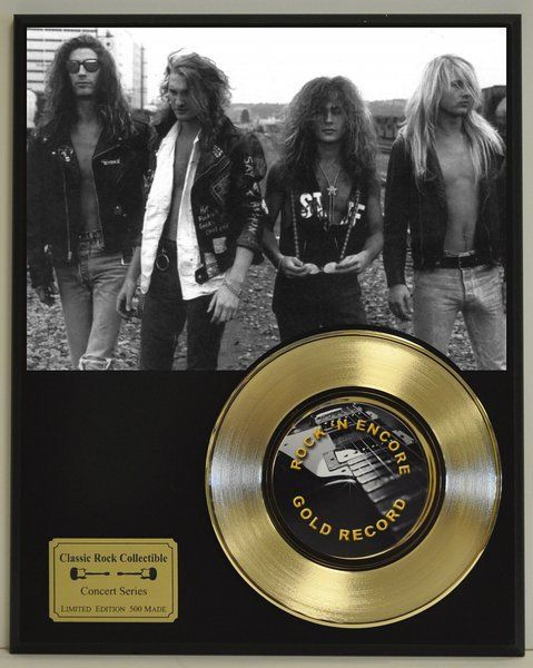 Alice in Chains Limited Edition Gold 45 Record Display. Only 500 made.