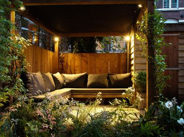 Small city garden - contemporary - patio - amsterdam - Boekel Tuinen