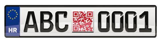 QR Codes on Croatian License Plates by Bruketa & Zinic