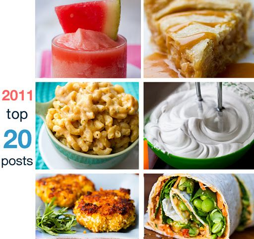Top 20 Healthy Recipes of 2011~Healthy Happy Life <3