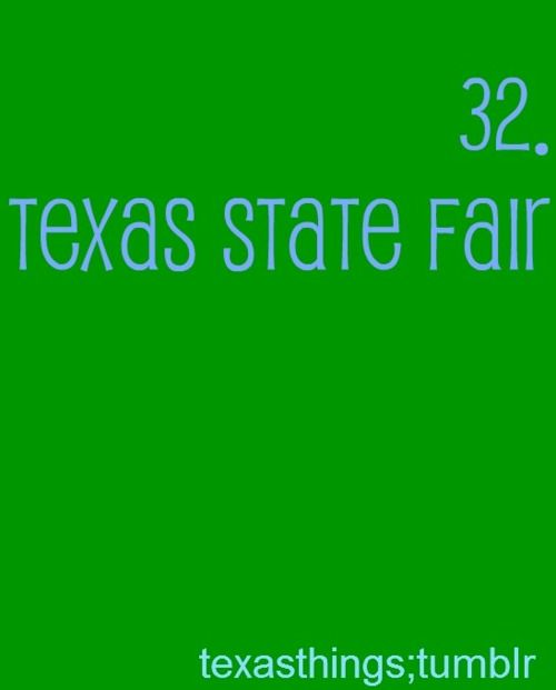Texas State Fair - the land of fried food...