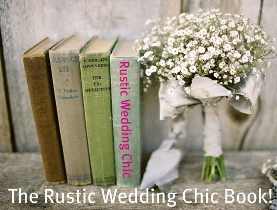 Rustic Chic Wedding Book