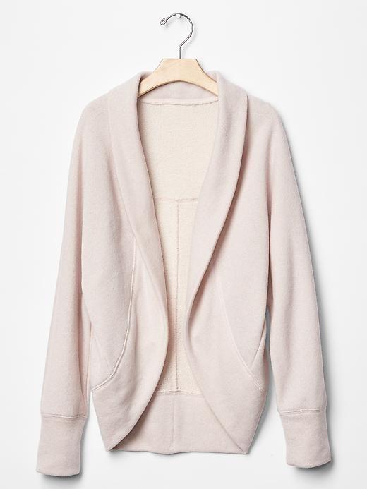 Shimmer open cocoon cardigan | Gap