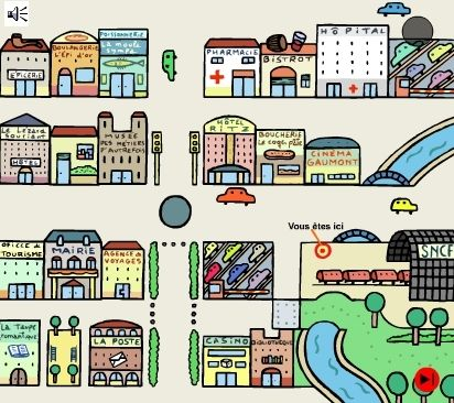 la ville est un lieu de rencontre Orléans