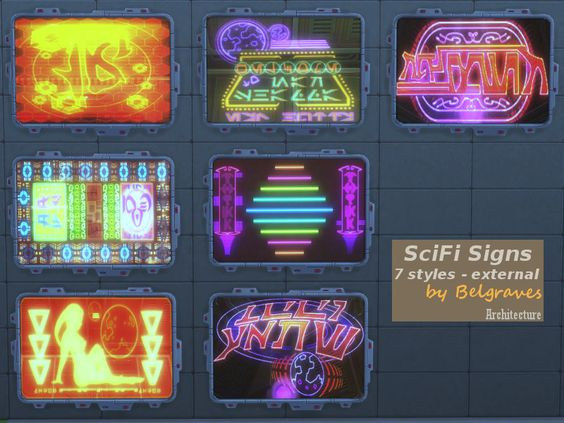 Leander Belgraves - SciFi Signs (if necessary unlock by typing...