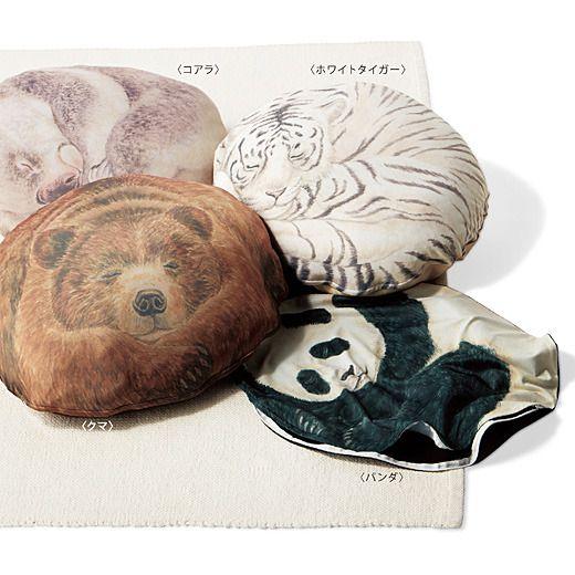 YOU+MORE! 押し入れで眠る毛布も喜ぶ  クークークッションケース〈ミディアム〉の会 | フェリシモ