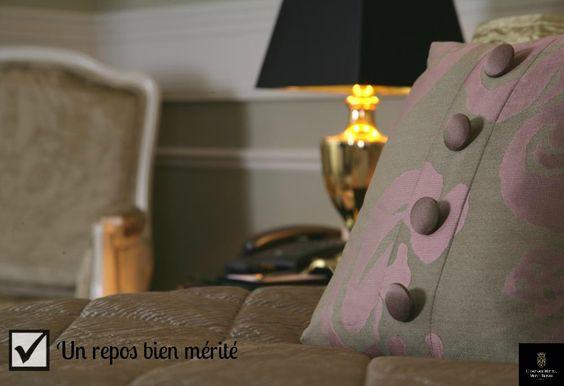 Des chambres confortables pour un week-end #détente réussi. Comfortable rooms for a #relaxing stay.