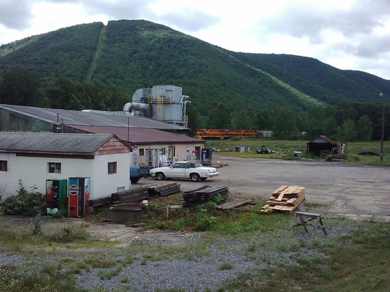Driftwood Pa, pop 103. That is the convenience store in the foreground!