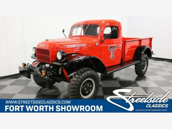 1952 Dodge Power Wagon For Sale Near Fort Worth Texas 76137 Classics On Autotrader Power Wagon Power Wagon For Sale Dodge Power Wagon