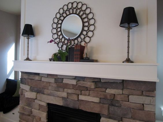 Brick Fireplace Decorating The Stones Exposed Fireplace Fireplace