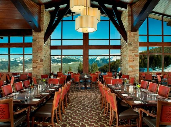 Be sure to eat at The 10th restaurant on Vail Mountain. Beautiful! @vailmtn @vailresorts #vail