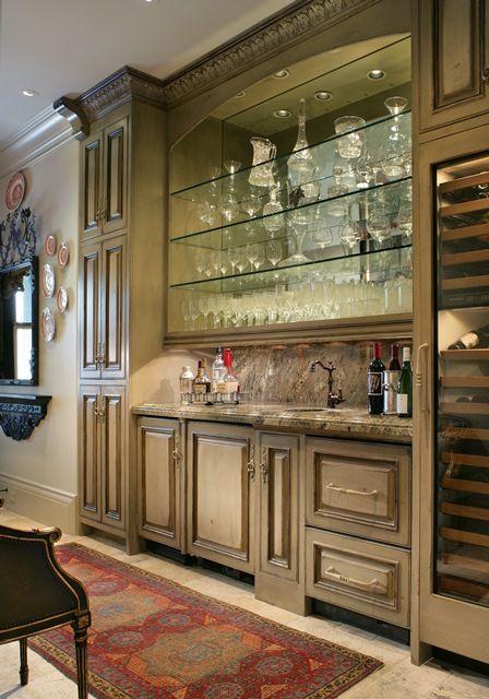 Habersham Custom Cabinetry for the Bar Area