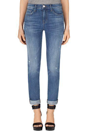 J BRAND 1207 Allyn Boy Fit Jeans Cherish Boyfriend Jeans 29 Denim Anthropologie…