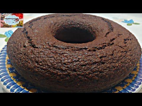 Bolo Chocolate Com Farinha De Aveia Facil E Saboroso