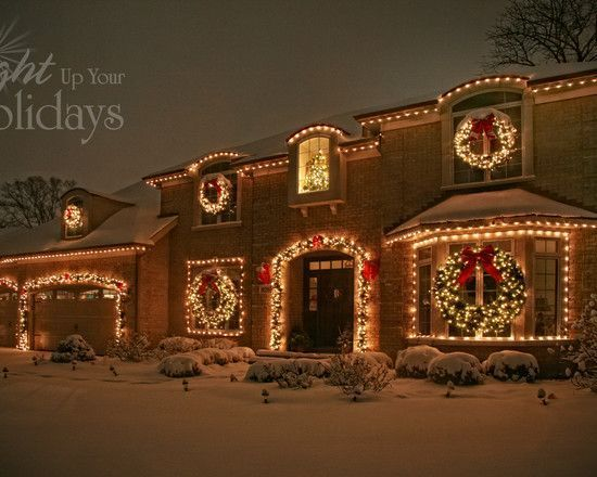 Exterior Christmas Lights Design, Pictures, Remodel, Decor And Ideas   Page  3 #