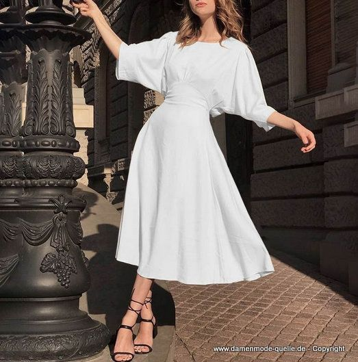 Kleider 2021 Vintage Sommerkleid 2021 Wadenlang In Weiss Damenmode Gunstig Online Kaufen Mode Damenmode Winter Her Sommerkleid Damen Mode Lange Kleider