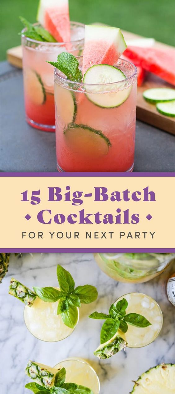 15 Big-Batch Spring Cocktails You Can Make For $30 Or Less