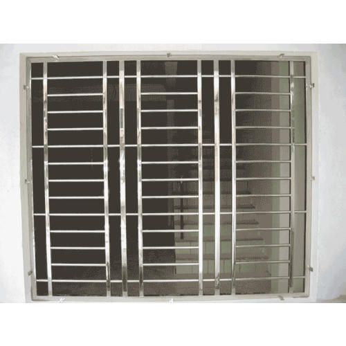 Stainless Steel Window Grill In 2020 Window Grill Steel Grill