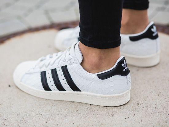 Women Shoes Sneakers Adidas Originals Superstar 80s S76414 On Feet Shoes 2016 2017 Nike Kd Shoes Shoes Sneakers Adidas Shoes