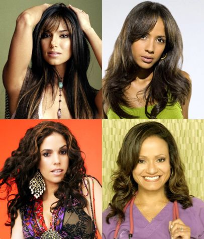 Roselyn Sanchez, Dania Ramirez, Ana Ortiz and Judy Reyes.TV show~Devious Maids