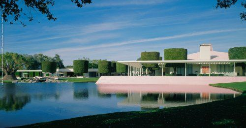 Sunnylands, the recently restored Annenberg Estate, by A. Quincy Jones, now open to the public