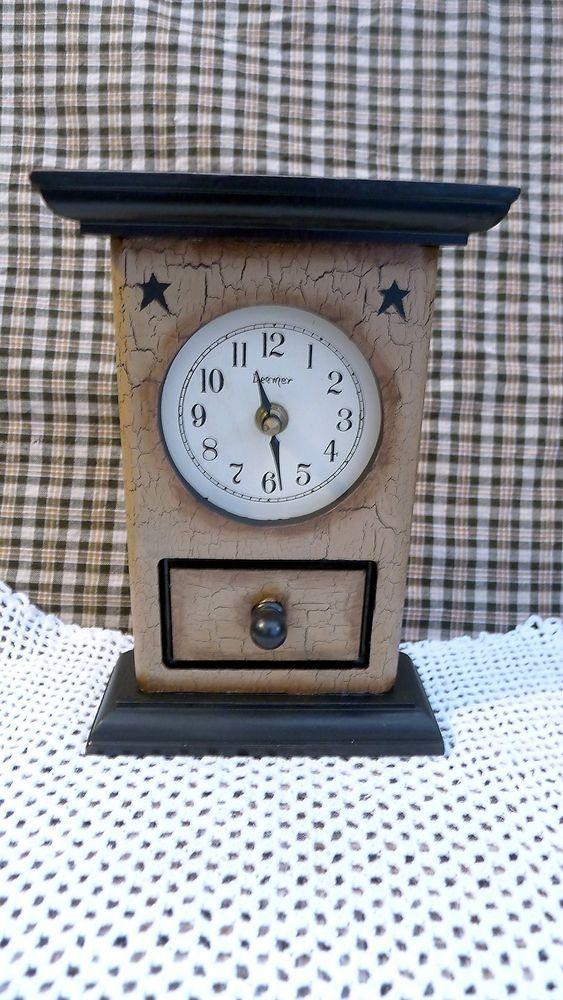 Small mantel clocks Country farmhouse decor and Mantel clocks on Pinterest