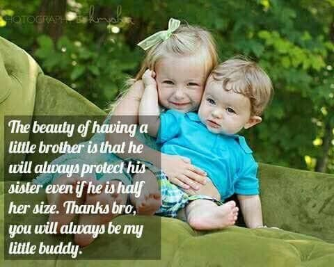 Having A Little Brother Is A Beauty Little Brother Quotes Siblings Funny Quotes Brother Sister Love Quotes