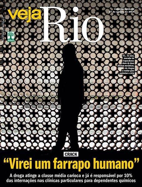 Leia na matéria de capa da edição desta semana: O crack chega à classe média carioca e transforma a vida de seus usuários em um pesadelo .  http://vejario.abril.com.br/edicao-da-semana/cariocas-classe-media-crack-drogas-797746.shtml