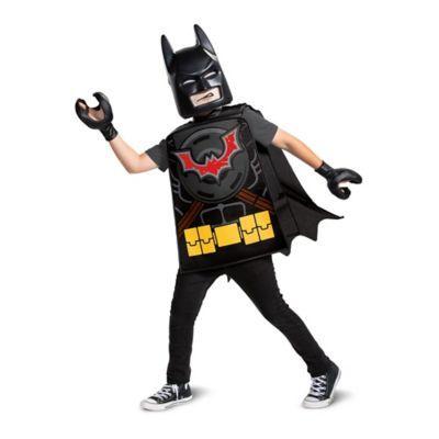 BLACK CAPE AND MASK CHILDS KIDS SUPERHERO FANCY DRESS COSTUME UNISEX FILM HERO